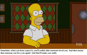 Homer Simpson Christmas Quotes Holiday Bart Author