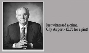 Mikhail Gorbachev 21 Facebook Status Updates Made Into Inspirational ...