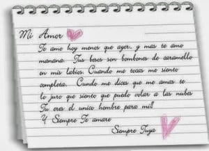 ... for my boyfriend love quotes in spanish with translation in english