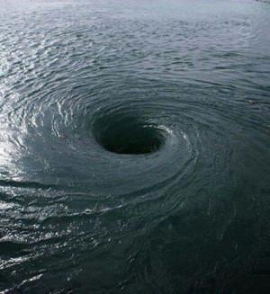 Whirlpool in the Bermuda Triangle!