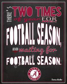 WOOD SIGN Alabama Crimson Tide Bear Bryant Football Quote Wall Hanging ...