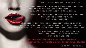 Vampire Love Quotes And Sayings Love life quotes sayings