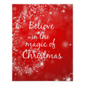 Christmas Quote Posters & Prints