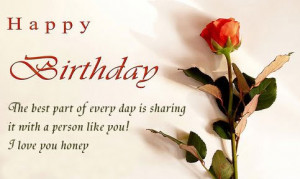 Happy Birthday Love Quotes For Him By FQ