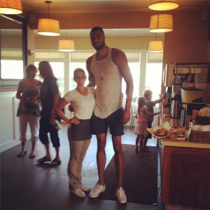 Tyson Chandler Apparently Skips Legs Day at the Gym…Every Single ...