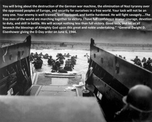 ... the destruction of the German War Machine…..dwight d eisenhower