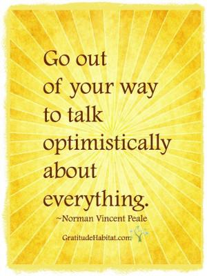... at: www.GratitudeHabitat.com #inspiration-quote #Norman-Vincent-Peale