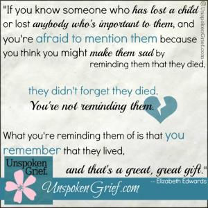Quotes on Grief: Elizabeth Edwards