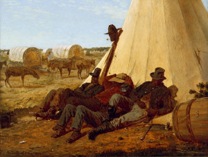 The Bright Side, 1865 by Winslow Homer