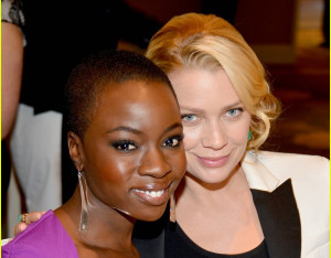 Laurie Holden And Danai...