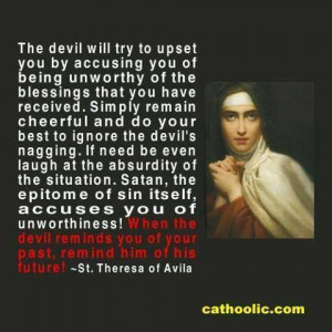images quotes of St. Teresa of Avila - Google Search