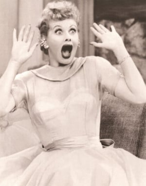 Style Icon - Lucille Ball! I Love Lucy!