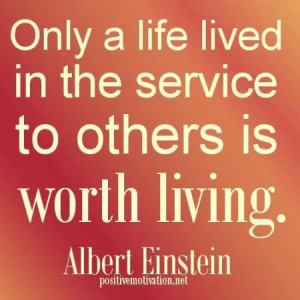 service to others