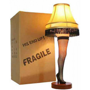 ... end up and fragile just like in a christmas story measures 26 inches