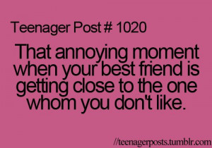 best friend, teenager post, truth
