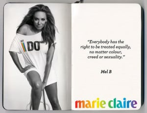 Celebrities support Marriage Equality