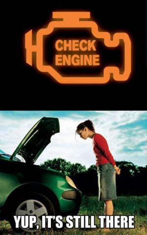 Women And The Check Engine Light