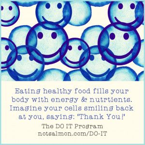 ... hang them on your refrigerator – to boost your willpower and health