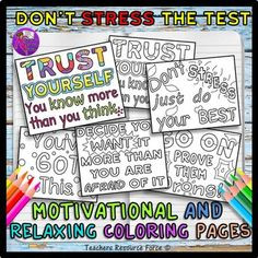 dreaded testing process. The testing period is such a stressful time ...