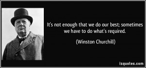 More Winston Churchill Quotes