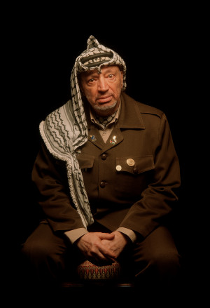 Master Series: Greg Heisler Photographs Yasser Arafat