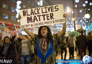 You see, I believe that black lives matter.