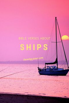 Bible verses about ships