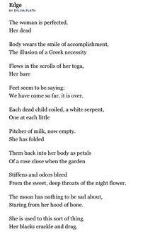sylvia plath more favorit poem sylvia plath my favorite poem