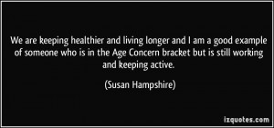 More Susan Hampshire Quotes