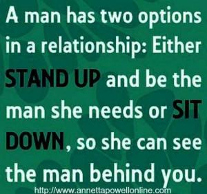 Step up or step away