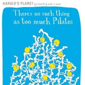 Funny pilates cartoons!
