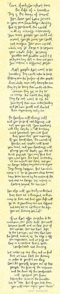 Words by Kent Nerburn, Handwriting by Emma Kate Creative. www ...