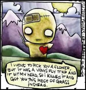 cute emo love cartoons