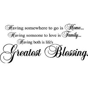 Having Somewhere To Go Is Home, Vinyl Lettering, Wall Sayings, Quotes ...