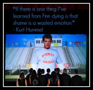 GLEE's Finn Hudson tribute episode The Quarterback