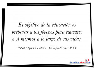 Weekly Wisdom 2015: Spanish Quotes for Teachers
