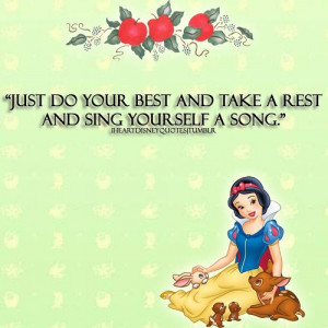 Snow White Quote by I ♥ Disney Quotes