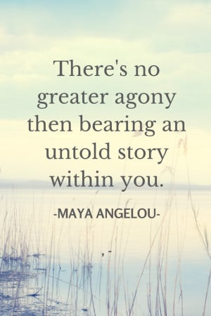The Power of Story: The Inspiration of Maya Angelou