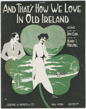 Irish Quotes About Love The irish and those who wish