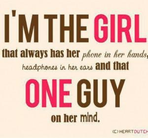 girl sayings #music #phone #love