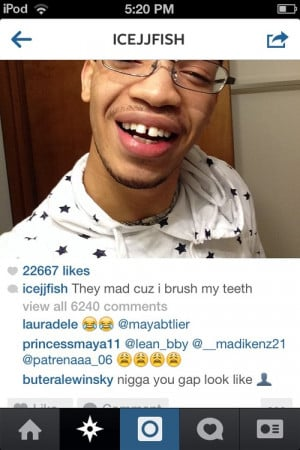 instagram Mindless Behavior ig icejjfish they a mess that last comment ...