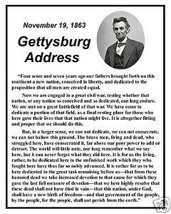 ... -Gettysburg-Address-Famous-Speech-Quote-8-x-10-Photo-Picture-fs2