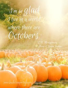 ... Autumn Fall Colors October Whimsical Quote Fall Autumn Anne of