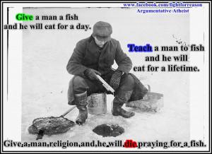 Ice Fishing. by AAtheist