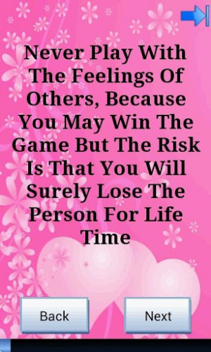 This App contains very beautiful and heart touching quotes.