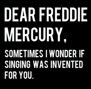 and white, freddie mercury, freddy mercury, haha, illustration, quote ...