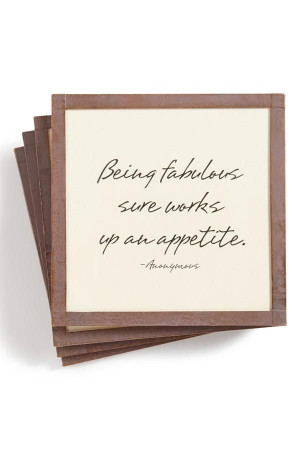 Being fabulous sure works up an appetite.: Ben Gardens, Copper Frames ...