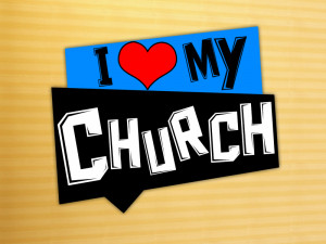 """... new series in September simply called """"I LOVE MY CHURCH"""