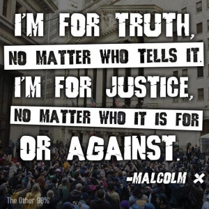 Malcolm X on Truth and Justice