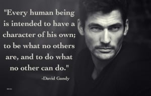 david gandy # quotes # inspiration